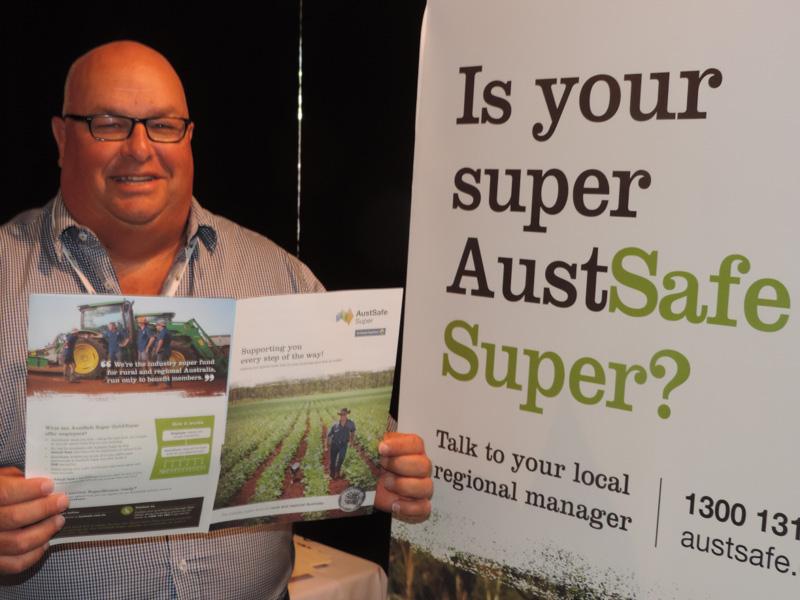 EXHIBITOR: AustSafe Super - Michael Wynne
