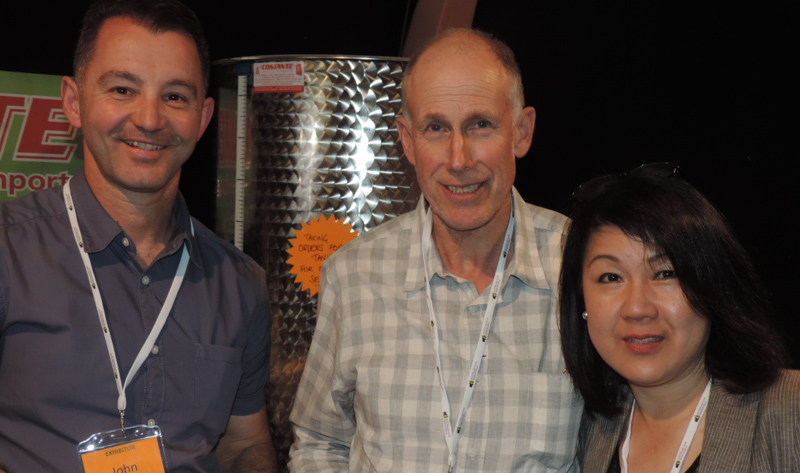 EXHIBITOR: Costante Imports - John Mitris with Bruce Spinks & Joo-Yee Lieu