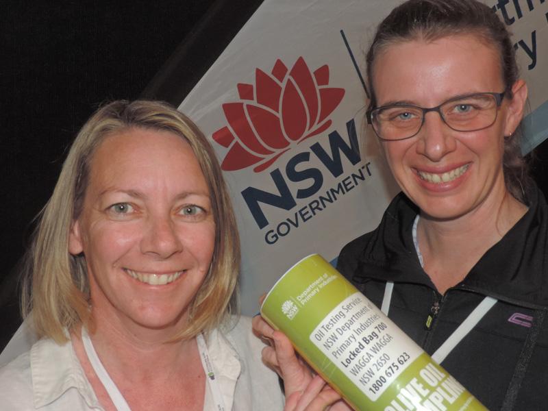 EXHIBITOR: NSW DPI - Tracey Kingham & Donna Seberry