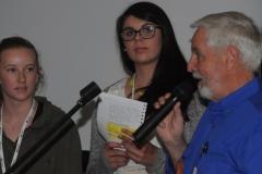 YOUNG JUDGE WINNERS: Zae Veitch & Brooke Purdue - Horizon Christian College & Kent Hallett